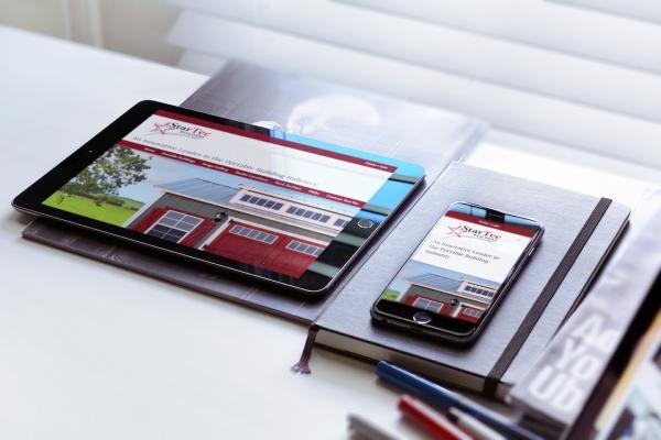 StarTec web design image