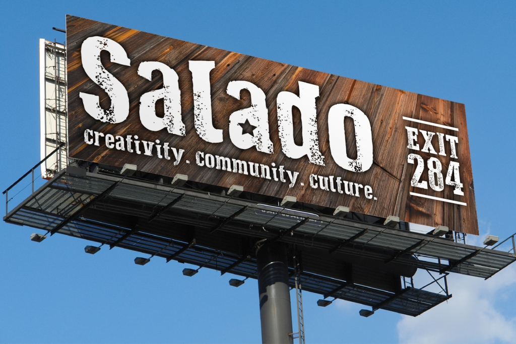 outdoor billboard design Salado Exit
